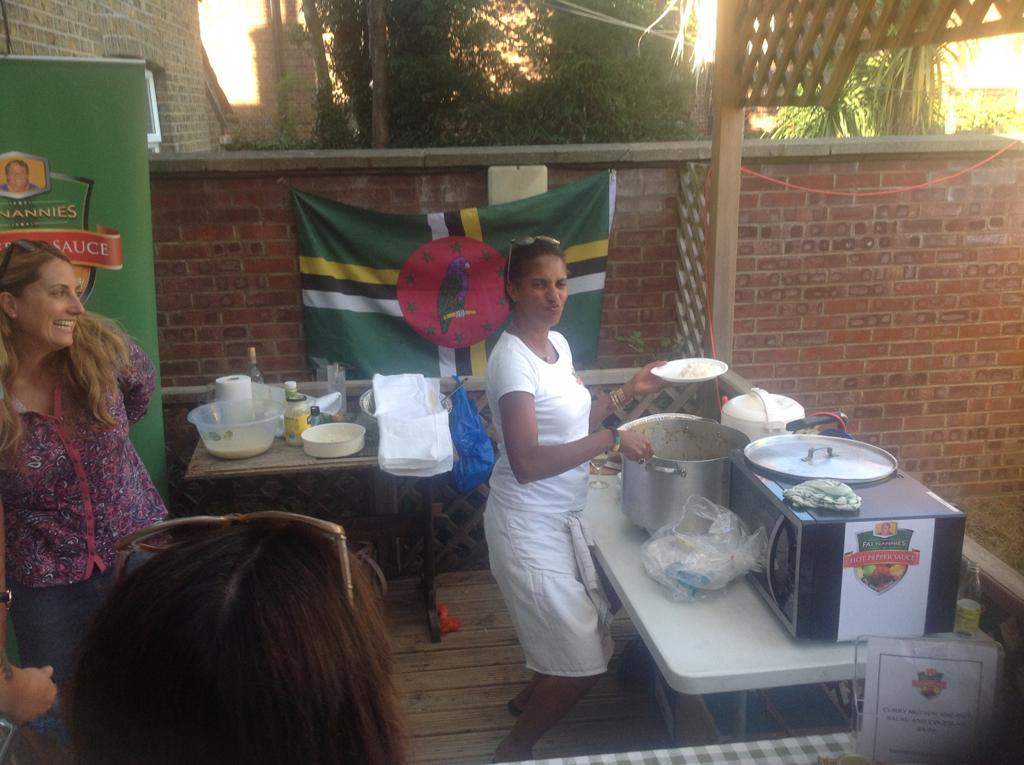 Jamaican Kitchen Charity Event