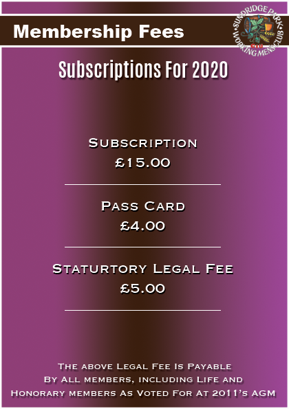 Subscription Renewal Fees